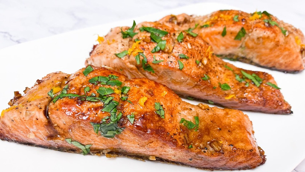 Heart-Healthy Fish That's Perfect For A Light Dinner