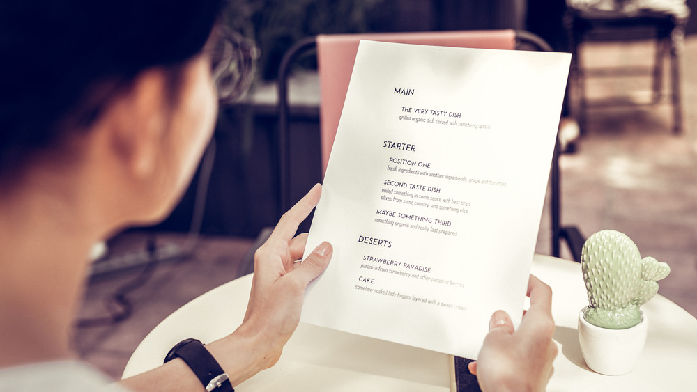 Why You Should Think Twice Before Choosing 'Healthy' Menu Options